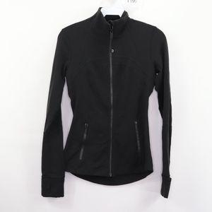 Lululemon Full Zip Define Yoga Jacket Black Size 4